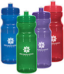 24oz Poly Clear TM Fitness Bottles